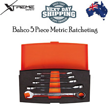 Bahco 5 Piece Metric Ratcheting Combination Spanner Set 1RM/S5