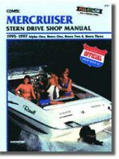 MerCruiser Alpha One Bravo One Two Three Stern Drive Boat Repair Manual 1995 .
