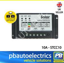 10A Dual Battery Solar Panel Charge Controller/Regulator 12v or 24v - STCC10