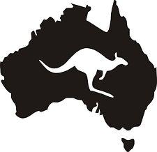 Australien Aufkleber Kangaroo Outback 13x13 cm OFFROAD Tuning Off Road Trip (14)