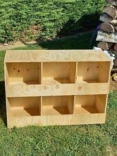 nid ,pondoir a poules,casier a pigeon 6 compartiment