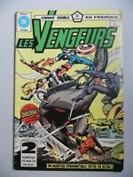 French Comic Les Vengeurs (Avengers) Format Double Editions Heritage # 120/121