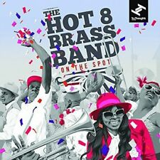 HOT 8 BRASS BAND-ON THE SPOT-IMPORT CD WITH JAPAN OBI D87