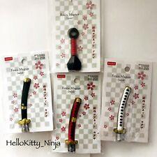 New Daiso Japan Magnet Sword & Kunai Set Of 4 Samurai Ninja Tools : US Seller