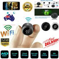 Mini Spy IP Camera Wireless WiFi HD 1080P Hidden Network Monitor Security Cam A+