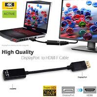 Premium Adapter Converter Active 2160P DP Displayport Male to HDMI Female