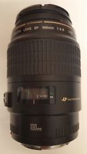 Canon EF 100 mm f/2.8 Lente Macro USM-Negro