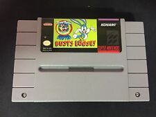 SUPER NINTENDO SNES : BUSTS LOOSE TINY TOON ADVENTURES BUSTER (usa)