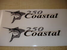 Wellcraft Coastal 250 Fishing Boat Decal Set