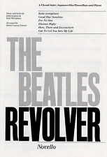 The Beatles Revolver Choral Suite Learn to Play Vocal Choir Voice Music Book