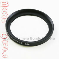 58mm 58 mm Camera Lens Filter Adapter Ring for Canon PowerShot G1X FA-DC58C