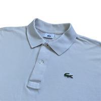 Vintage LACOSTE Polo Shirt | Size 7 | XXL, 2XL | Beige 00s Classic Short Sleeve