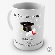 Personalised on Your Graduation Coffee Gift Mug