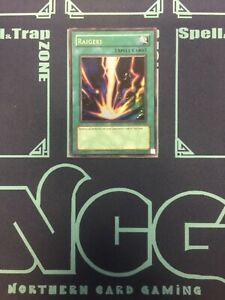 Yugioh-Rageki-Ulltra Rare-Unlimited Edition-DB1 EN114 (DAMAGED)