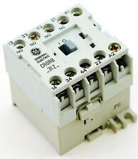 GE Miniature Din Rail Control Relay CR6RB31ZV fits CS4-31Z-12D 12V DC 3NO 1NC