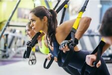 Suspension trainer yoga resistance Home Gym  bodybuilding crossfit body weight