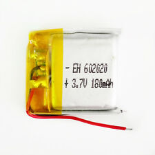 3.7V 180mAh Rechargeable 602020 LiPo Polymer Battery For Mp3 GPS PSP bluetooth