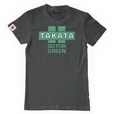 """* UFFICIALE * Takata """"Go per asfalto VERDE"""" T-shirt-piccolo (S) * UK STOCK *"""