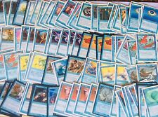 😱LOTE TOP OVER VINTAGE MAGIC THE GATHERING PLAYSETS BLUE LOT VERY RARE 😱