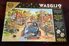 Wasgij 1 Sunday Drivers 1000 pc Jigsaw Puzzle NEW SEALED Graham Thompson Cartoon