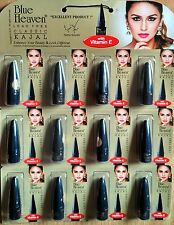 12 pc Blue Heaven classic BLACK Kajal long lasting, water resistant.BELLY DANCE