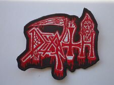 DEATH OLD LOGO EMBROIDERED PATCH