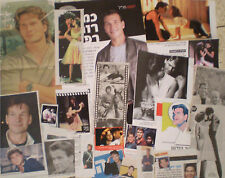 Patrick Swayze ISRAEL ISRAELI CUTTINGS CLIPPINGS Dirty Dancing