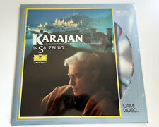 Karajan in Salzburg | Film | NTSC | LASERDISC still sealed