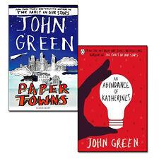 John Green Collection(An Abundance of Katherines & Paper Towns) 2 Books Set