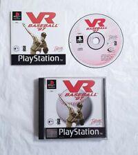 VR Baseball 97 PlayStation PS1 PAL