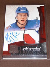 10-11 The Cup Derek Stepan Rookie AUTO PATCH RC 77/249 *RARE 3CLR PATCH*
