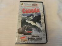 Canada The World's Greatest Train Ride VHS 1996 Clam Shell
