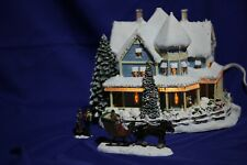 Thomas Kinkade Hawthorne Village Holiday Bed & Breakfast Christmas Collection
