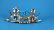 Vintage Salt and Pepper Shakers - New York Souvenir Empire State Statue Liberty
