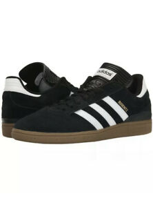 ADIDAS Mens 8.5 BUSENITZ G48060 BLACK SKATEBOARD LIFESTYLE CASUAL SHOES