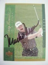 MARK O'MEARA signed 2001 Upper Deck golf card AUTO GOLDSBORO NC LONG BEACH STATE