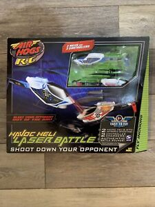 Air Hogs RC Havoc Heli Laser Battle 2 Helicopters Spin Master In Box