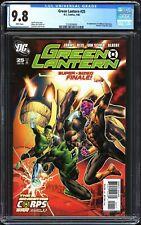 Green Lantern # 25 CGC 9.8 NM/MT 1st APP Larfleeze & Atrocitus KEY DC 2008
