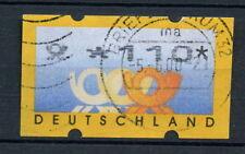 Allemagne 1999 étiquette de machine utilisé 110pf #A 28758