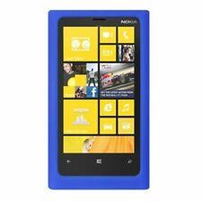 For Nokia Lumia 920 Rubber Silicone Skin Gel Rubber Case Cover Blue