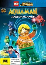 LEGO DC Super Heroes - Aquaman - Rage Of Atlantis (DVD, 2018)