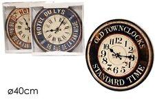 Orologio vintage da muro parete al quarzo quartz 40 cm clock wall 511827 - Rotex