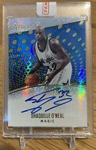 2017-18 Revolution Shaquille O'Neal Sealed Redemption Auto!!!