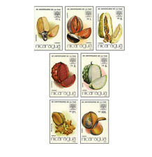 NIC8610 Tropical fruits 7 stamps