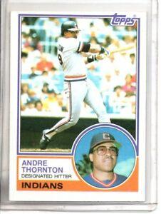 1983 TOPPS ANDRE THORNTON (NM/MT OR BETTER) //