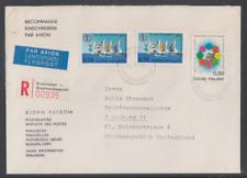 Finnland 1972 Reko Brief  mit Stempel Kristinestad   nach Deutschland