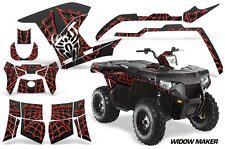 AMR Racing Polaris Sportsman800/500 Graphic Kit Quad Wrap ATV Decal 11-15 WIDOW