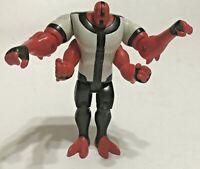 "Ben 10 Four Arms 4"" Action Figure Cartoon Network Bandai 2006 Authentic"