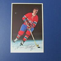Montreal Canadiens MARC TARDIF  team issue color postcard 1970  Quebec Nordiques