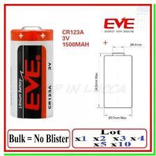 Pila 3v cr123 Batteria Litio EVE 123 cr123a 5018lc 6205 cr17345 bulk industrial